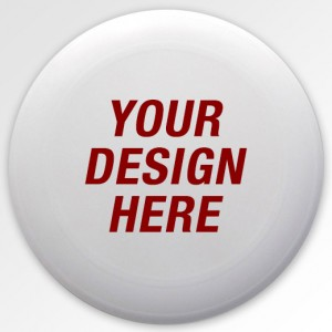 Custom Ultimate Frisbee Disc - Design Your Own