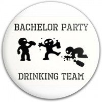 Bachelor Party Drinking Team Disc
