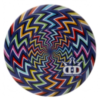 Dynamic Discs Junior Judge DyeMax Chevron Illusion