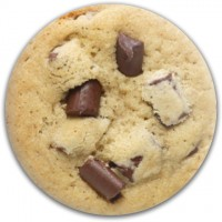 Chocolate Chip Cookie Disc