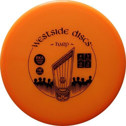 The Westside Harp Tournament Plastic Putter Discs from Dynamic Discs!