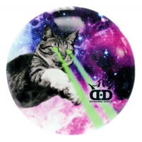 Dynamic Discs Junior Judge DyeMax Laser Kitty