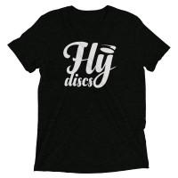 Fly Discs Tee- White Logo