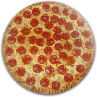 Pepperoni Pineapple Pizza Disc