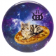 Dynamic Discs Junior Judge DyeMax Space Kitty Pizza