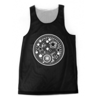 Sun and Moon Reversible Jersey Tank