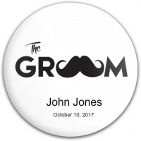 The Groom Mustache Disc