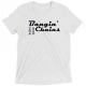 Bangin Chains Tri Blend T Shirt (White Fleck)