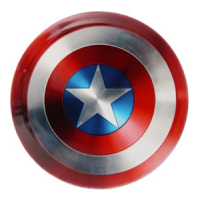 Captain America Shield Dynamic Discs Fuzion Truth