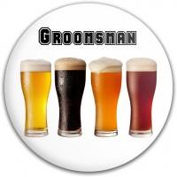 Groomsman Beers Disc