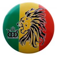 Dynamic Discs Junior Judge DyeMax Rasta Lion