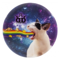 Dynamic Discs Junior Judge DyeMax Kitty Rainbow Barf