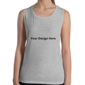 Custom Women's Tank (Heather Gray)