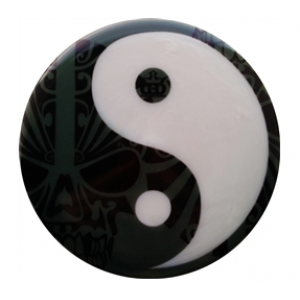 Dynamic Discs Junior Judge Ying Yang Skulls