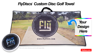 Custom Disc Golf Towel - Fly Discs